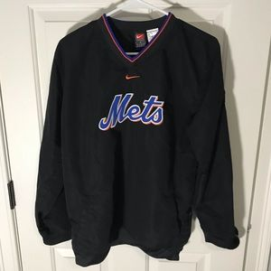 Nike New York Mets Pullover Jacket Size XL